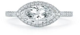 Kwiat Platinum Marquise Cut Diamond Ring