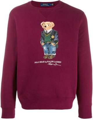 Polo Ralph Lauren Polo Bear print sweatshirt