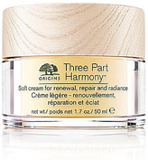 Origins Three Part Harmony Soft Cream for Renewal, Replenishment and Radiance