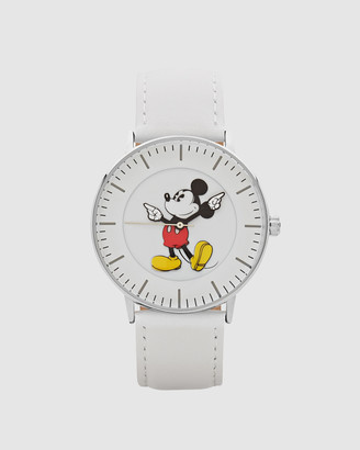 Disney Formal Mickey Silver Watch