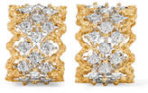 Buccellati Rombi 18-karat Yellow And White Gold Diamond Earrings - one size