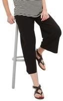 Topshop Women's Crop Wide Leg Ponte Maternity Trousers