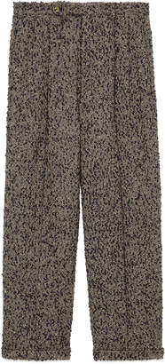 Gucci Bouclé wool pant