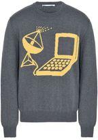 Stella McCartney grey techno knit sweater