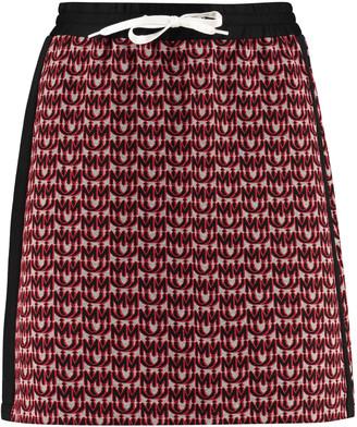 Miu Miu Knitted Mini Skirt