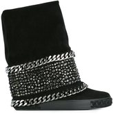 Casadei chunky sole boots