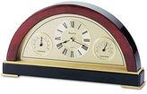 Bulova Clock, Executive Collection Mahogany Finish Desk Clock B2980