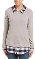 Soft Joie Diadem Sweatshirt Combo Top.