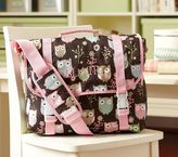Pottery Barn Kids Mackenzie Chocolate Owl Messenger Bag