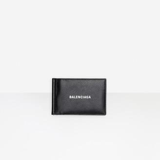 Balenciaga Cash Bill Clip Square Wallet