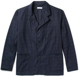 Engineered Garments Slim-fit Woven Cotton Jacket - Navy