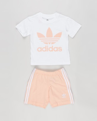 adidas Short Tee Set - Babies-Kids
