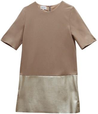 Au Jour Le Jour Beige Wool Dress for Women