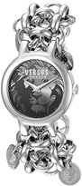 Versus By Versace Women's SGO130015 AGADIR Analog Display Quartz Silver Watch