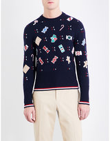 Thom Browne Holiday Candy Wool Jumper