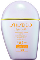 Shiseido Sports BB Broad Spectrum SPF 50+ WetForce, Medium, 30 mL