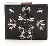 Kate Landry Jeweled Frame Clutch