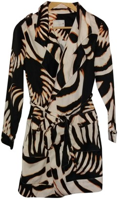 Roberto Cavalli Brown Cotton Trench Coat for Women