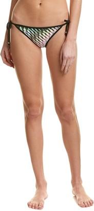 Shoshanna Women's Mirage Triangle Bikini Bottom with Binding