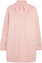 MM6 MAISON MARGIELA Denim Jacket - Pastel pink