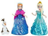 Disney Frozen Glitter Glider Anna, Elsa and Olaf Doll Set