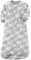 Carter's Elephant-Print Fleece Sleep Sack, Baby Boys (0-24 months)