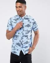 Superdry Short Sleeve Shirt With Hawaiian Print