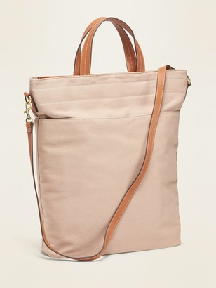 Old Navy Dual-Strap Canvas Tote for Women