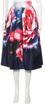 Nicholas Thermo Print A-Line Skirt w/ Tags