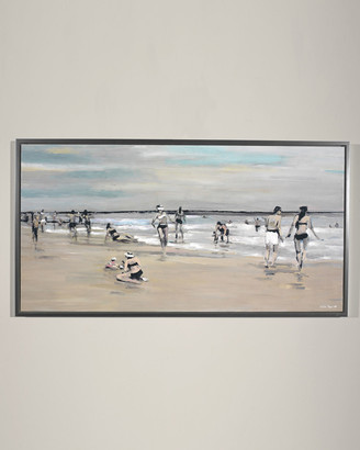 """Parker RFA Fine Art """"Vacation Study"""" Giclee Wall Art by Edith"""