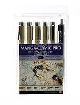Sakura Manga-Comic Pro sketching & inking set of 6 sketching and inking set [PACK OF 2 ] by