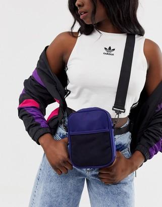 Asos DESIGN harness cross body bag with detachable straps
