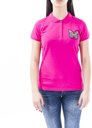 Sun 68 Sun68 Blend Cottn Polo Shirt