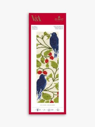 DMC Bird and Berry Bookmark Cross Stitch Kit