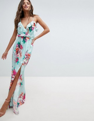 Jessica Wright Floral Maxi Dress