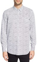 Obey Men's 'Thicket' Trim Fit Print Woven Shirt