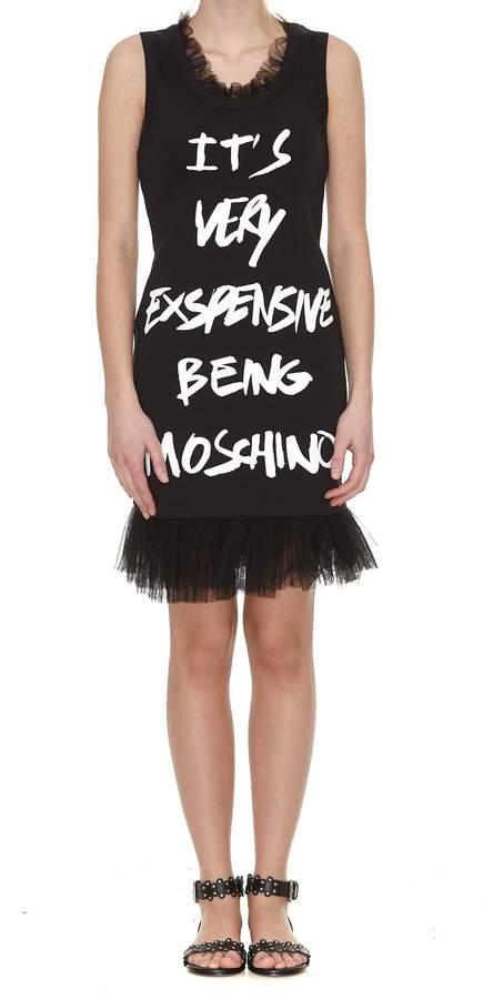 Moschino Ruffled Mini Dress