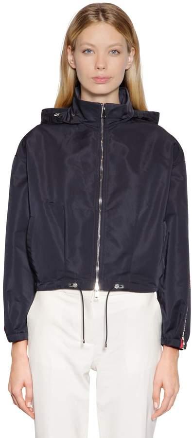 a2ee17cc5 Zirconite Hooded Nylon Jacket