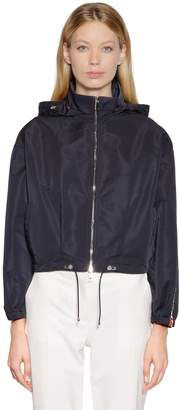 Moncler Zirconite Hooded Nylon Jacket