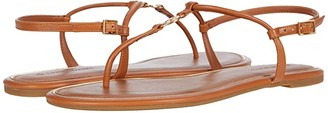 Tory Burch Emmy Flat Sandal (Perfect Black) Women's Shoes
