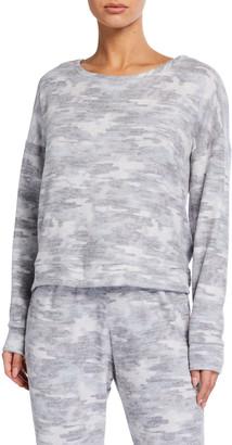 Onzie High Low Camo Sweatshirt