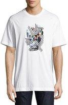 Robert Graham Vhann Paint-Splatter T-Shirt, White