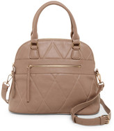 Urban Expressions Duke Vegan Leather Dome Satchel