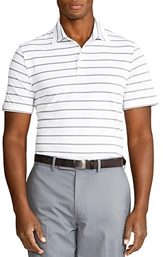 Polo Ralph Lauren Striped Classic Fit Performance Polo Shirt