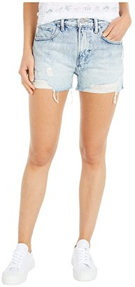 Lucky Brand Relaxed Shorts (Destructed Love) Women's Shorts