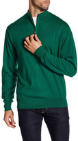 Peter Millar Merino Wool Quarter Zip Sweater