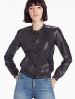 Lucky Brand Leather Bomber