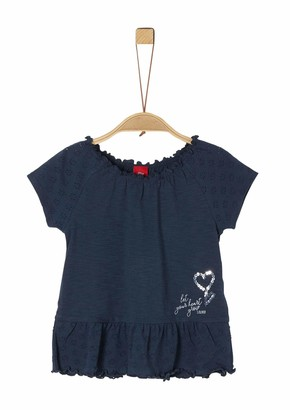 S'Oliver Girls' 403.10.004.12.130.2019829 T-Shirt