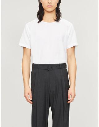 Eton Cotton and silk-blend T-shirt