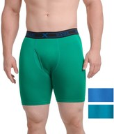 Hanes Platinum X-Temp® Boxer Briefs - Longer Leg, 3-Pack (For Men)